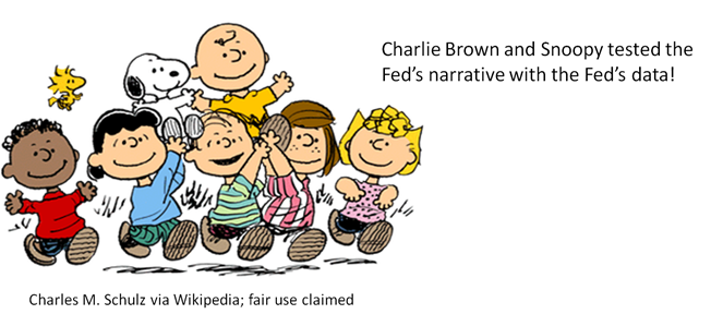 peanuts gang with caption